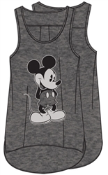 Plus Size Tank Just Mickey, Gray