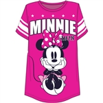 Plus Size Football Tee Minnie Mouse 28, Pink
