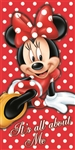 All About Me Minnie Beach Towel
