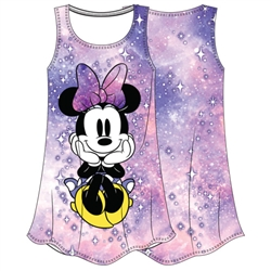 Girls Sublimated Dress Minnie Dreaming, Multi-Colored