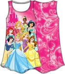 Youth Great Fun Princess Ariel, Snow, Cinderella Tiana Jasmine & More Sublimated Dress