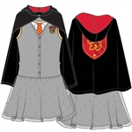 Youth Girls Trompe Harry Potter Gryff Tutu Dress, Gray