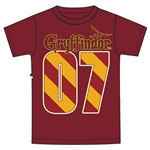 Youth Unisex T Shirt Harry Potter Gryffindor MVP, Red