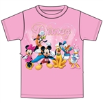 Youth Girls T-Shirt Disney Sparkle, Pink