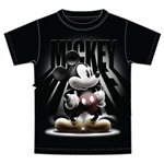 Youth T-Shirt Spotlight Mickey, Black
