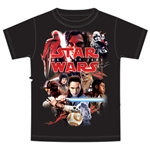 Youth Star Wars The Last Jedi Red Album, Black