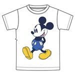 Youth Boys Tee Mickey Capri Walking, White