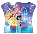 Youth Fashion Top 2018 Princess Dated Sublimated, Multi Color (Florida Namedrop)