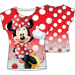 Youth Sublimated Top Howdy Minnie, Sublimated