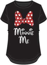 Youth Girls Fashion Top Minnie Me Daughter, Black