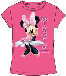 Youth Girls Fashion Top Sassy Minnie Mouse, Pink
