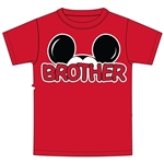 Toddler Brother Family Tee, Red