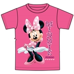 Toddler Girls T-Shirt Sassy Minnie, Pink