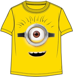 Toddler Unisex T Shirt Minions Minling Tee, Yellow