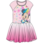 Toddler Girls Minnie with Florals Tutu Dress, Light Pink