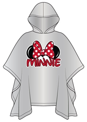 Youth Minnie Family Rain Poncho