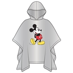 Youth Classic Mickey Standing Poncho (No Namedrop)