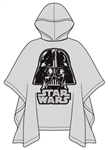 Youth Poncho Raincoat Star Wars Darth Vader, Clear