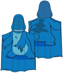 Stitch Pose Hooded Towel