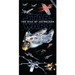 Star Wars Episode IX Big Battle Beach Towel, 28 x 58