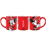 Minnie Kup 11oz Ceramic Mug, Red