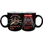 Star Wars Episode IX Spacecrafts First Order Coffee Mug, 14oz