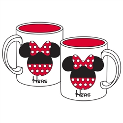 "Minnie ""Hers"" 11oz Mug, White"