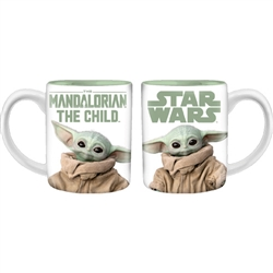 11oz Mug Star Wars Mandalorian The Child, White