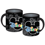 Disney Name Logo 11oz Mug, Black