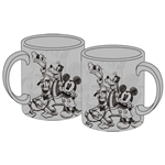 Sketchy Mickey Group 11oz Mug