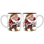 Don't Bother Me Grumpy 14oz Relief Mug, Multicolored