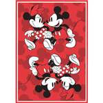 Mickey Minnie Stroll Red Kitchen Towel
