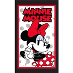 Kitchen Towel Single Cute Chef Minnie, Red (Kitchen Towel Only)