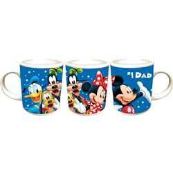 Disney #1 Dad Mug, 11oz Ceramic, Blue