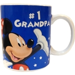 Disney #1 Grandpa Mug, 11oz ceramic