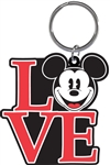 Mickey N Love Lasercut Keychain