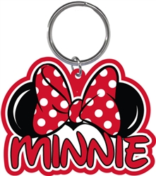 Minnie Family Collection Lasercut Keychain