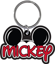 Mickey Family collection Lasercut Keychain