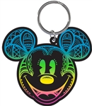 Day of Mickey Head Lasercut Keychain