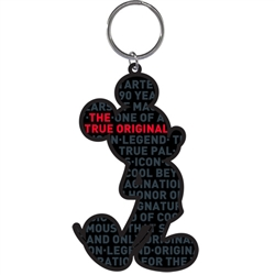 Mickey's 90th Celebration Lasercut Keychain