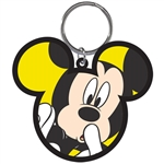 Scared Mickey Lasercut Keychain