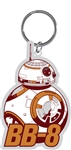 BB-8 Solo The Force Awakens Laser Keychain