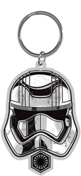 Storm Trooper Head The Force Awakens Laser Keychain