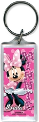Minnie Dots Lucite Keychain (Florida Namedrop)