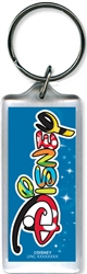 Disney Magic Logo Lucite Keychain