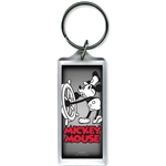Steamboat Willie Captain Lucite Keychain