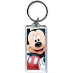 Full on Mickey Mouse Lucite Keychain
