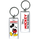 Classic Mickey Mouse Lucite Keychain