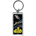 Star Wars Action Lucite Keychain