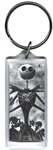 Jacks Back Nightmare Before Christmas, Lucite Rectangle Keychain